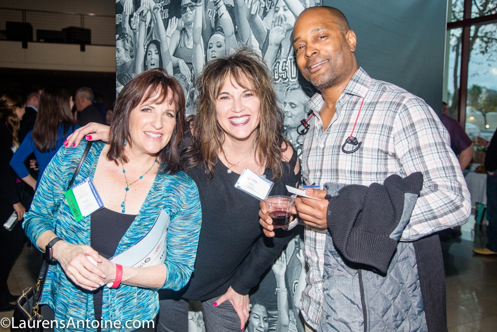 Mindy Shanes, Amy DeLue, and Steven Lewis
